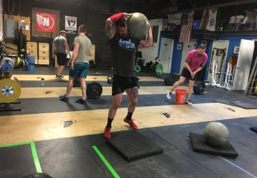 WOD040117: Team Stone to Shoulder