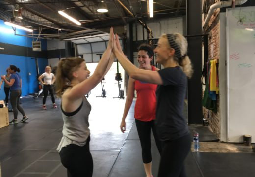 WOD042217: Teams of Three!