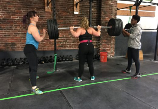 WOD042417: Tempo Back Squat!