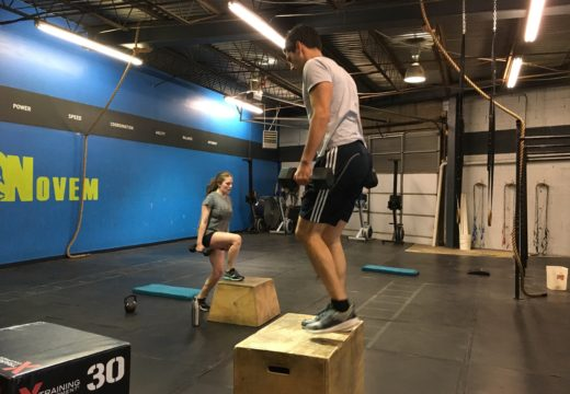 WOD050817: Box Jumps & Weighted Step Ups!