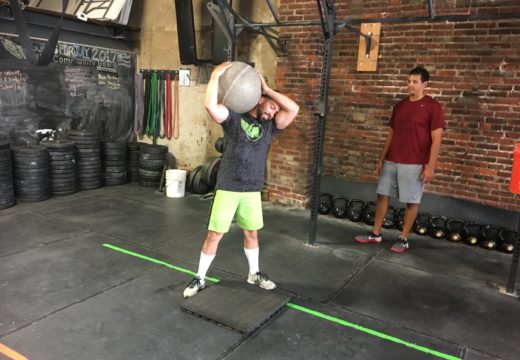 WOD 080617: If You Pick Them Up, You Must Put Them Down