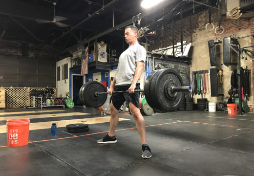 WOD 091417: Sumo Deadlifts and Jail Bird Lunges