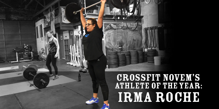 Novem's CrossFit Athlete of the Year: Irma Roche