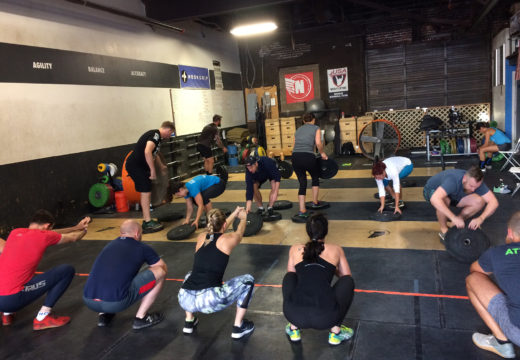 WOD 093017: Hot Lava!