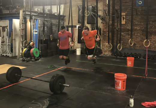 WOD 110217: Slow, steady and controlled.
