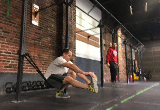 WOD 110817: Pistols and Dumbbell Snatches