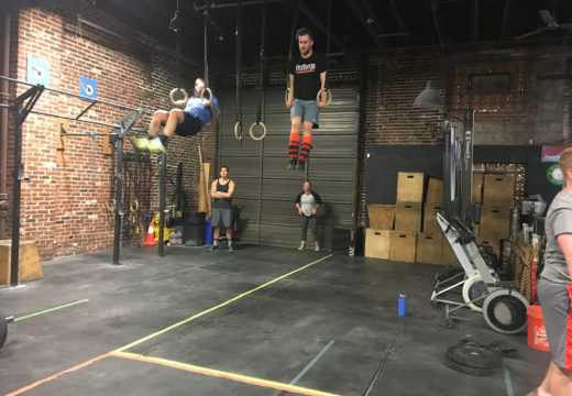 WOD 122817: Swing High, Swing For The Fences