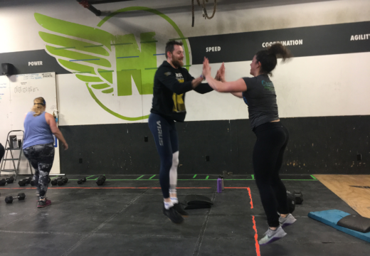 WOD 010618: High Fives All Around