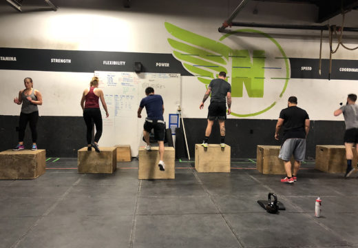 WOD 011518: Hot Steps!