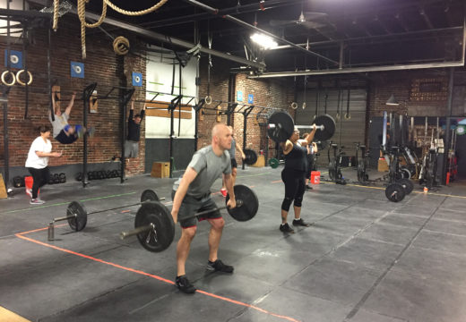 WOD 012318: So. Many. Snatches.