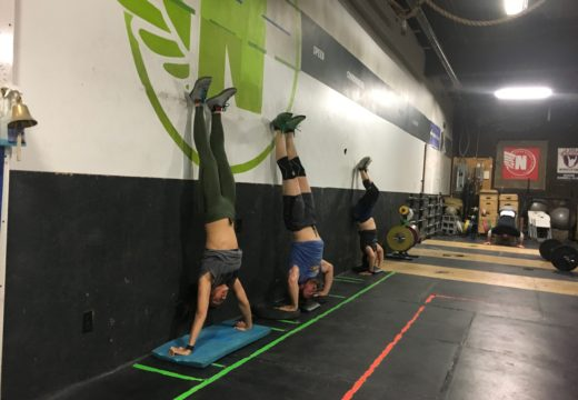 WOD 021518: Handstand Pushups for Days