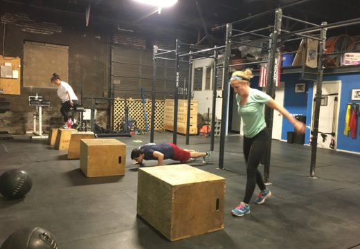 WOD031518: Bring on the Burpee Box Jumps!