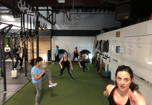 WOD040818: Running Away with the Weekend!
