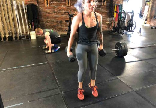 WOD 062618: A Dumbbell What? Burpee?…