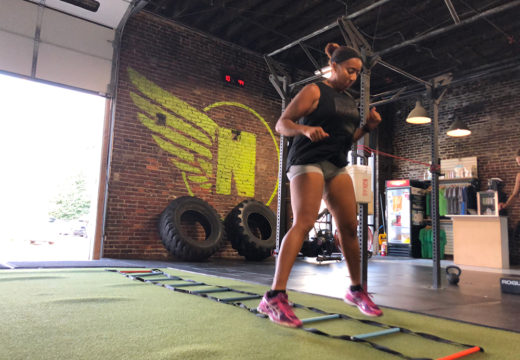 WOD 081518: Agility & Cleaning!