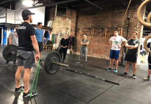 WOD 111618: Bands All Around.