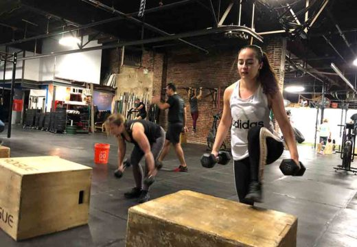 WOD 122618: Stepping Into The New Year.