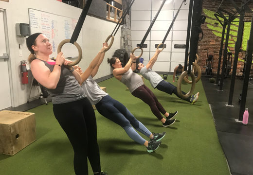 WOD 010318: Ringing In The New Year With Ring Rows!