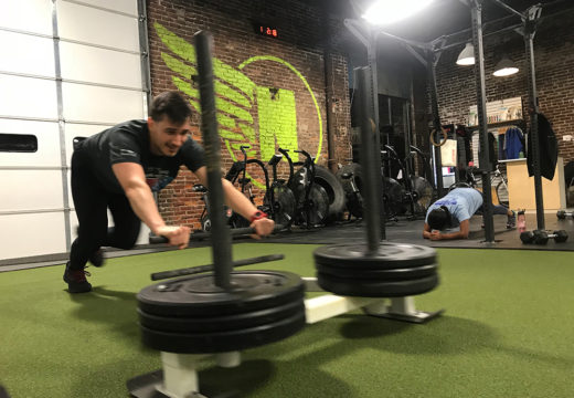 WOD 012119: Sliding Into Monday!