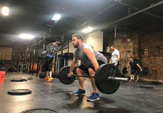 WOD 031219: Snatches and Tabatas