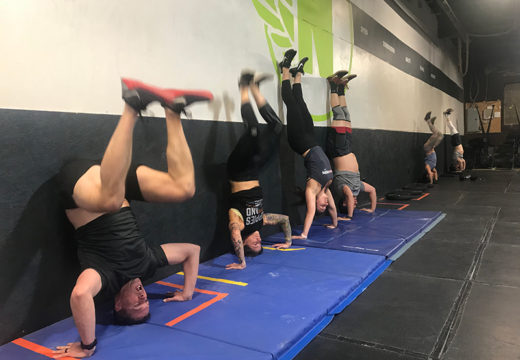 WOD 031919: Flipped Up Tuesday!