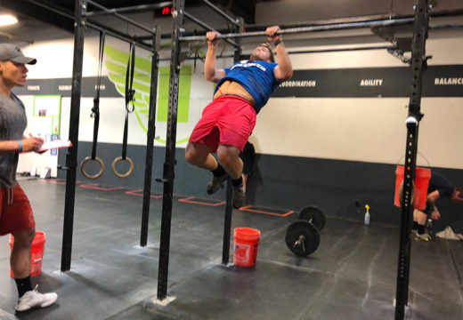WOD 032219: 19.5, The Open is Done!