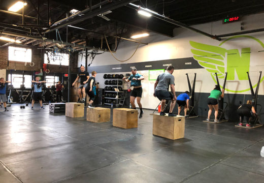 WOD 050319: Friday Delivers!