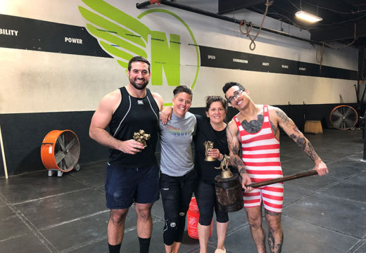 WOD 062219: Shane and Max Out Day!