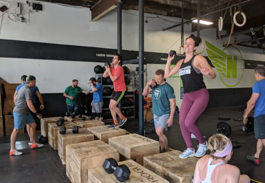 WOD 061519: Countdown to 20!