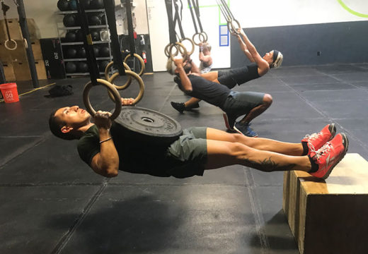 WOD 073119: The Weight Of The World In Your Lap.