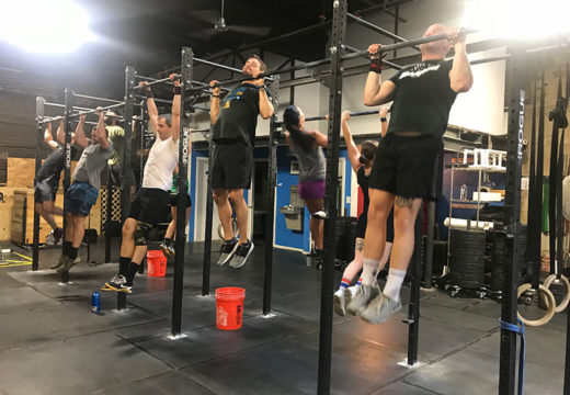 WOD 082819: Half of This, All The Way Out On That…