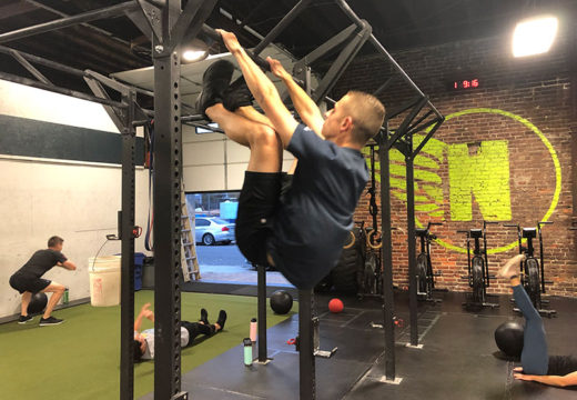 WOD 102819: Get those toes high!