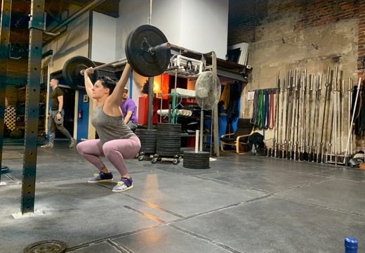 WOD 122919: Snatches & Bikes