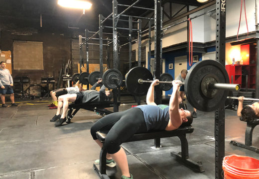 WOD 012420: Push Up Annie!