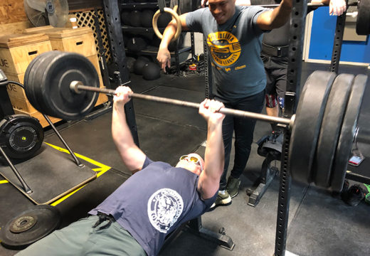 WOD 013120: There's Only One Way To Bench