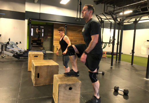 WOD 031320: Stepping Up